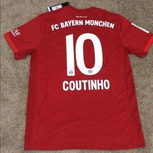 NEW Coutinho Bayern Munich Home 2020